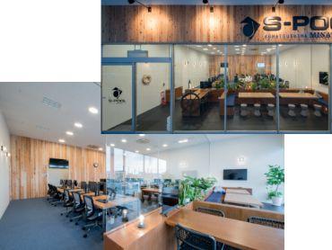 小松島センターのオフィス風景